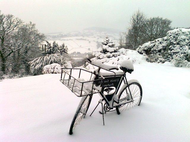 Snöar det i Wales ibland?