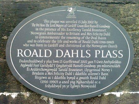 CARDIFF BAY Roald Dahl