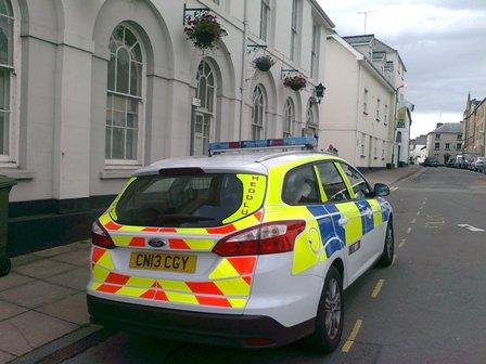 Walesisk polisbil