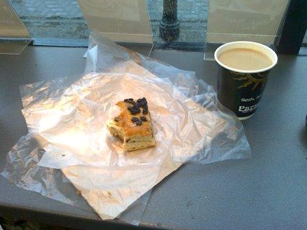 Cafébesök med Lardy cake