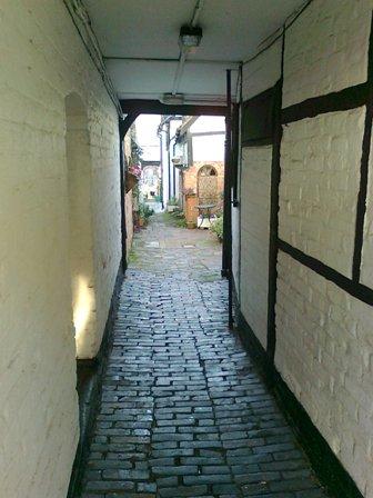 Ledbury, en gränd