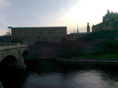 Stockholm - Slottet och Riksdagshuset