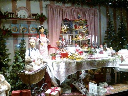 Stockholm - Åhlens julskyltning
