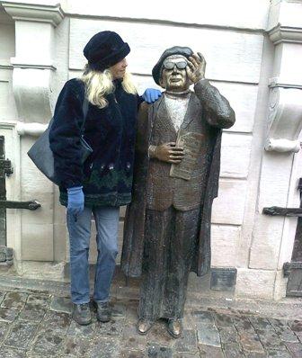 Stockholm - Evert och jag