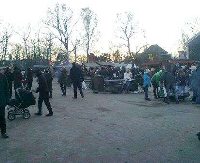 Stockholm -Skansens Julmarknad