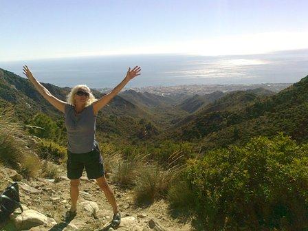 Spanien, jag nådde toppen!!!!