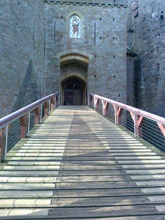 Castell Coch, vindbryggan