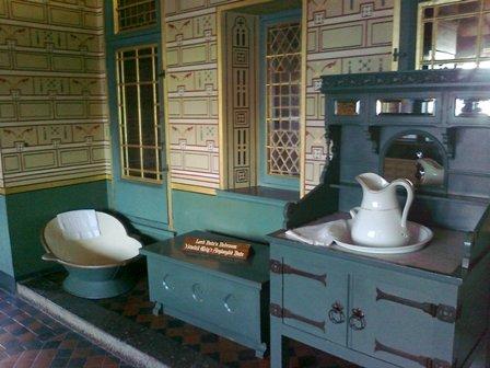 Castell Coch, badrummet