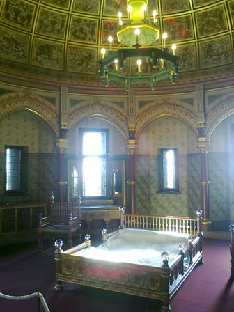 Castell Coch, ett av sovrummen