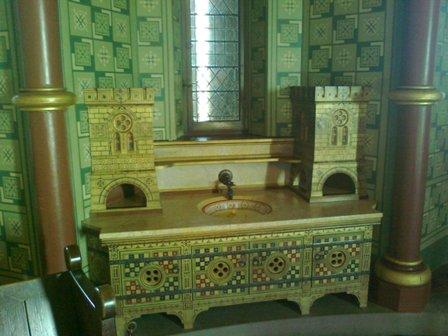 Castell Coch, tvättfat